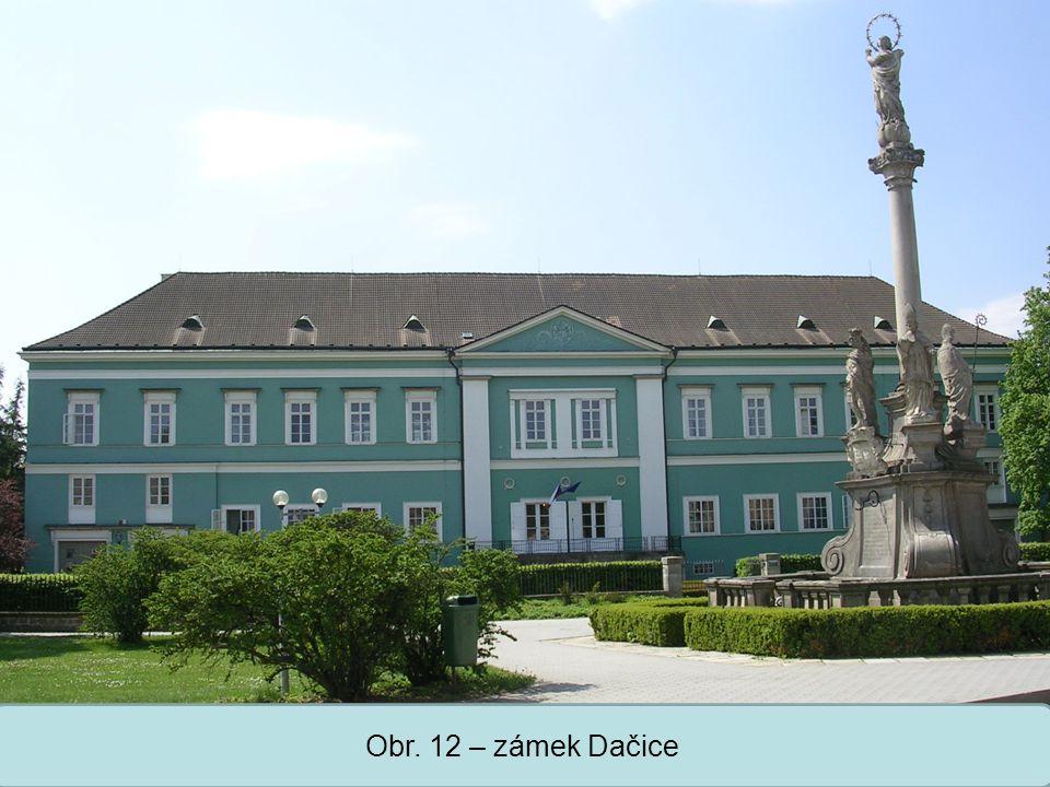 Střední škola Oselce Obr. 12 – zámek Dačice