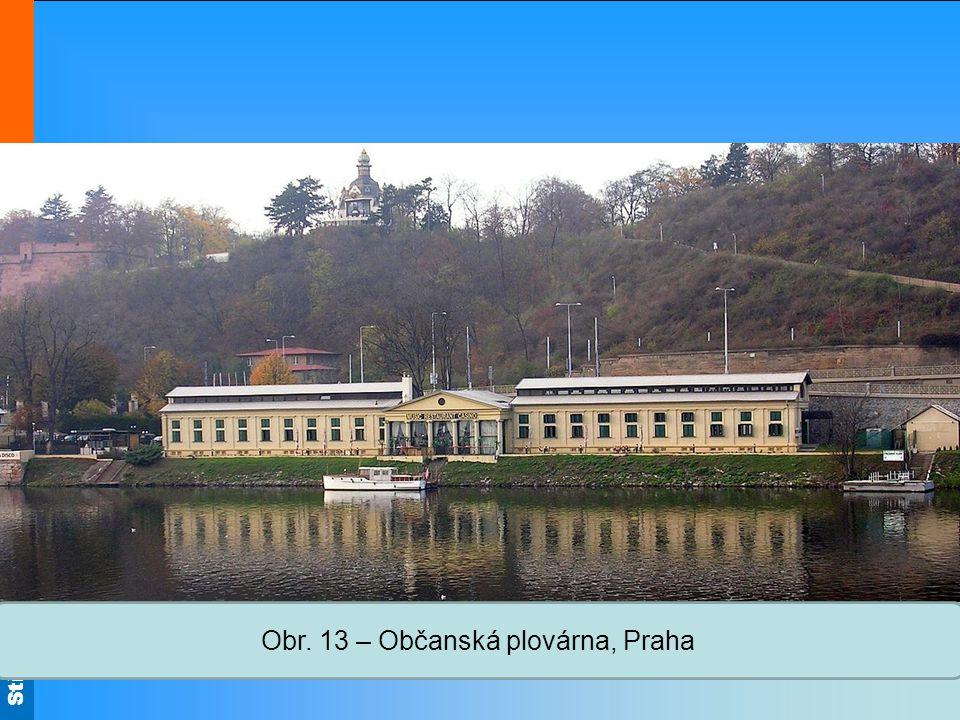 Střední škola Oselce Obr. 13 – Občanská plovárna, Praha
