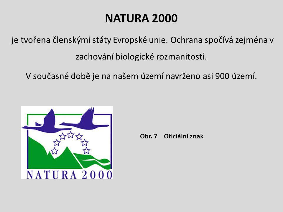 NATURA 2000 je tvořena členskými státy Evropské unie. Ochrana spočívá zejména v zachování biologické rozmanitosti. V současné době je na našem území n