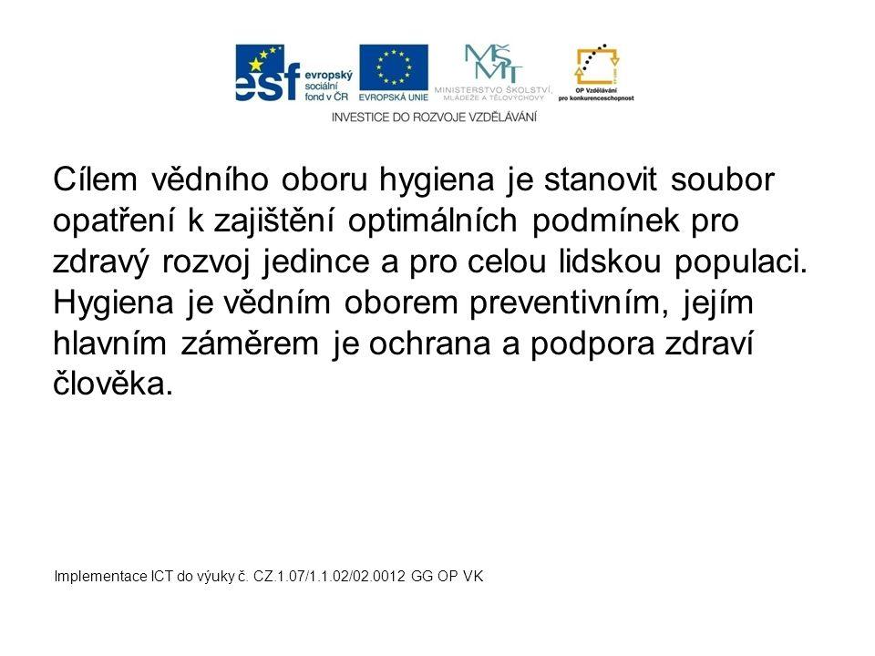 neštovice svrab kandidóza kapavka Implementace ICT do výuky č. CZ.1.07/1.1.02/02.0012 GG OP VK