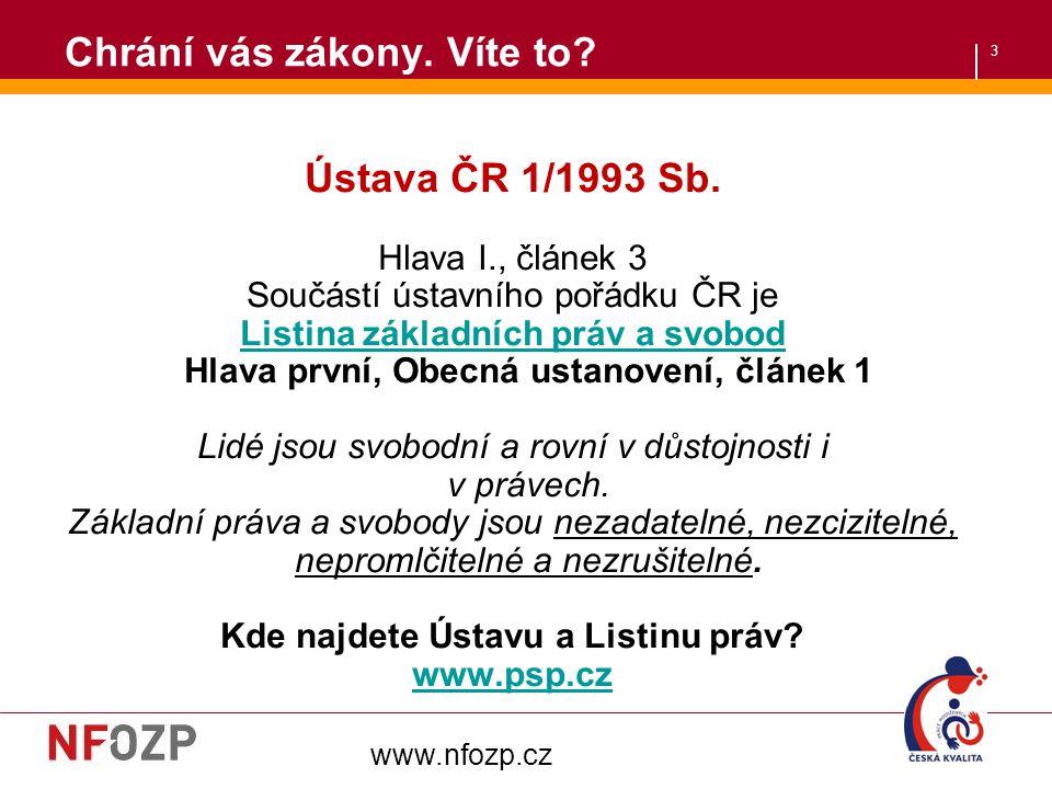 4 Hlava čtvrtá Hospodářská, sociální a kulturní práva Článek 26 (1)Každý má právo na svobodnou volbu povolání a přípravu k němu, jakož i právo podnikat a provozovat jinou hospodářskou činnost.