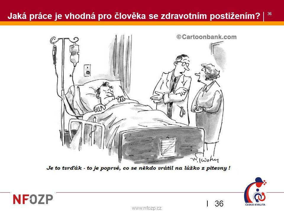 36 Jaká práce je vhodná pro člověka se zdravotním postižením? Zaměstnávání OZP v ČSOB l 36 www.nfozp.cz