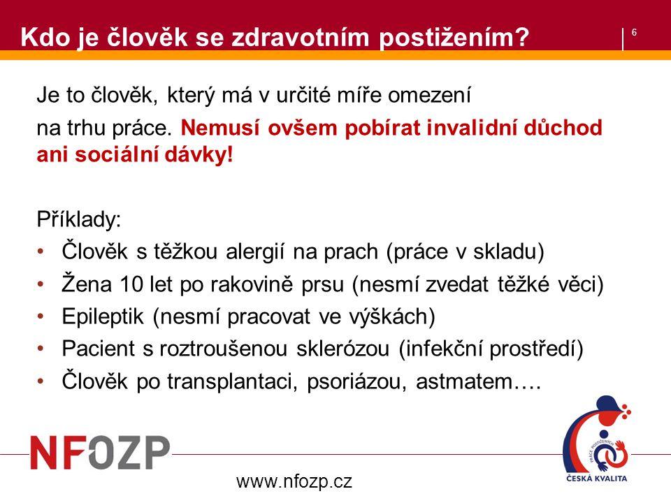 27 Slevy na dani z příjmů pro zaměstnavatele  18 000,-Kč na OZP/1 zaměstnance  60 000,-Kč na 3.