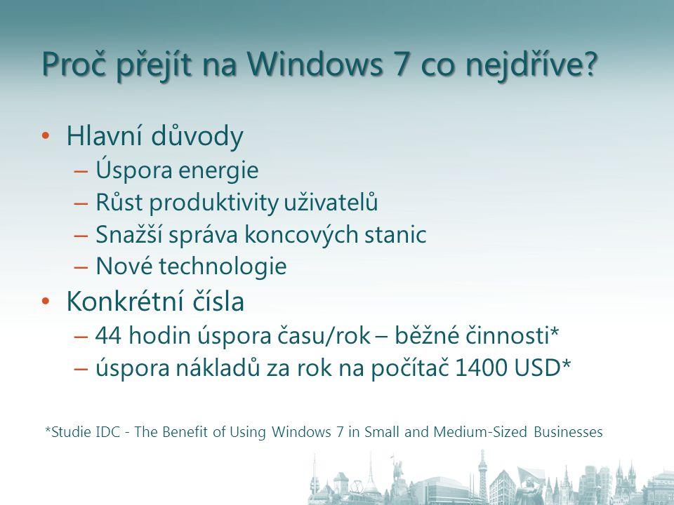 Windows ® MultiPoint ™ Server 2010 Řešení - Shared Resource Computing (SRC) O co se jedná.