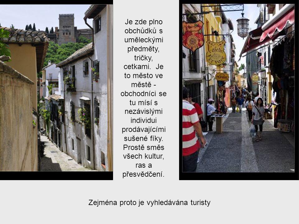 Albayzín je historická čtvrť.