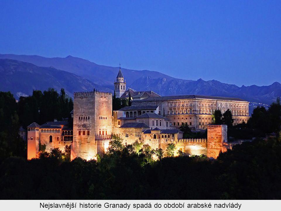Granada je starobylé město na jihu Španělska, které se rozkládá pod bílými vrcholky Sierry Nevady, protékají jím řeky Genil a Darro