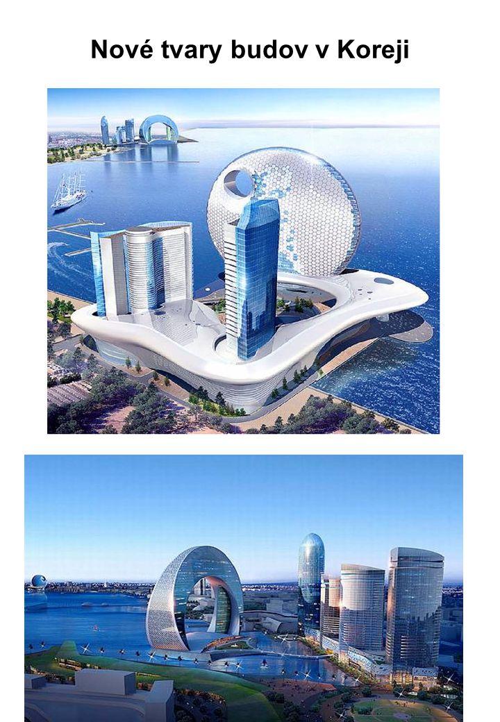 Nové tvary budov v Koreji