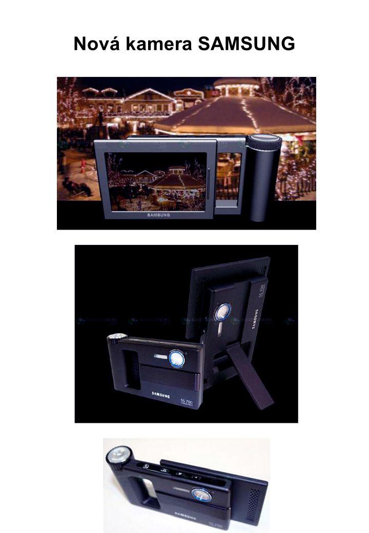 Nová kamera SAMSUNG
