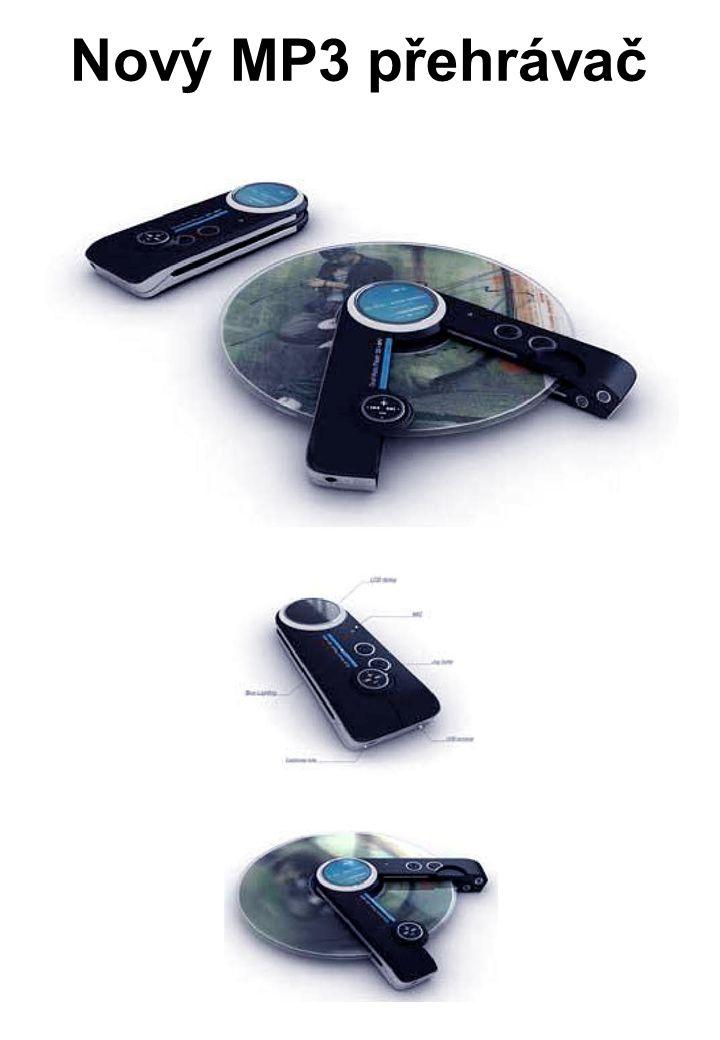 Nový MP3 přehrávač