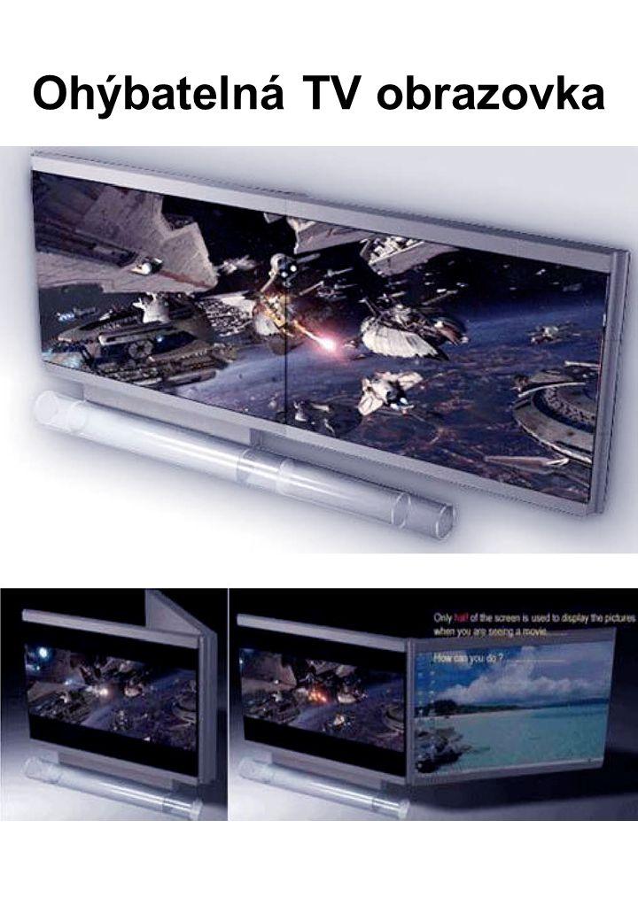Ohýbatelná TV obrazovka