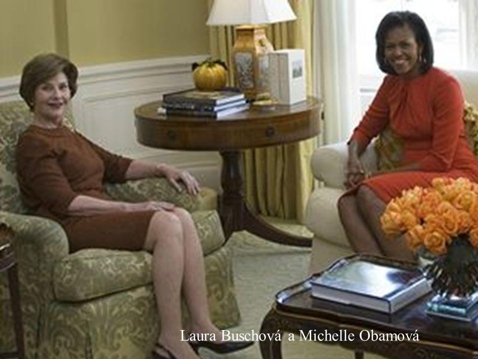 George W. Busche a Barack Obama