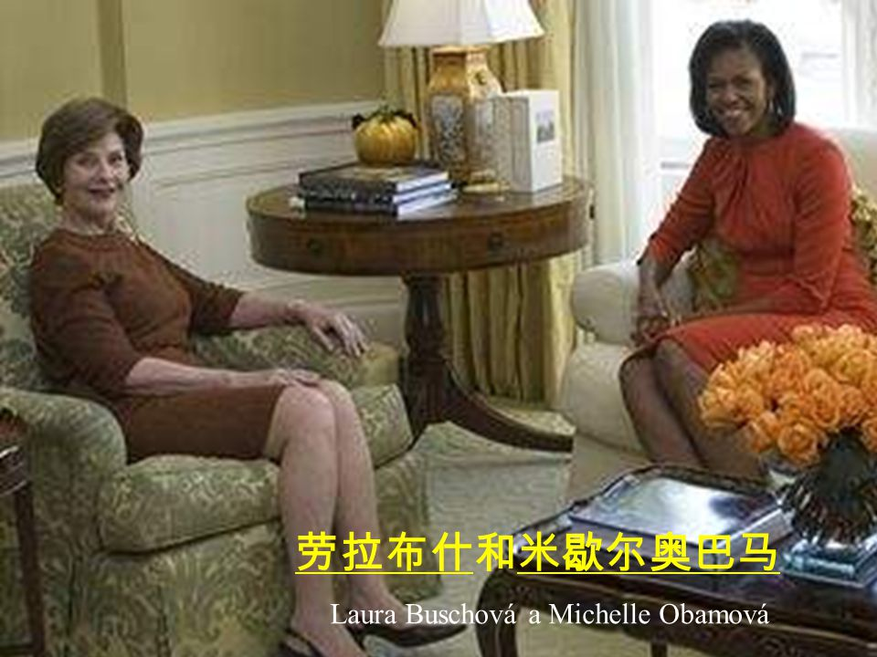 George W. Busche a Barack Obama 乔治 W 布什和 贝拉克奥巴马
