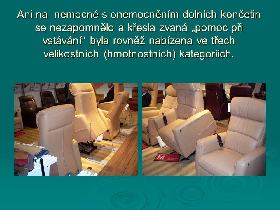 Ergonomie - správný tvar páteře při sezení i stání bylo letošní velké nábytkářské téma