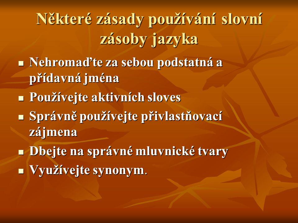 Doporučené studijní materiály a zdroje ► MARTÍNKOVÁ, V.