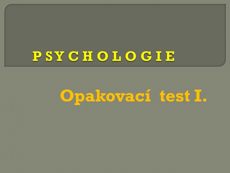  Napište 4 psychologické metody