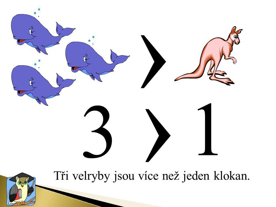 Doplň správně znaky ‹, ›, ═ = ‹ ›