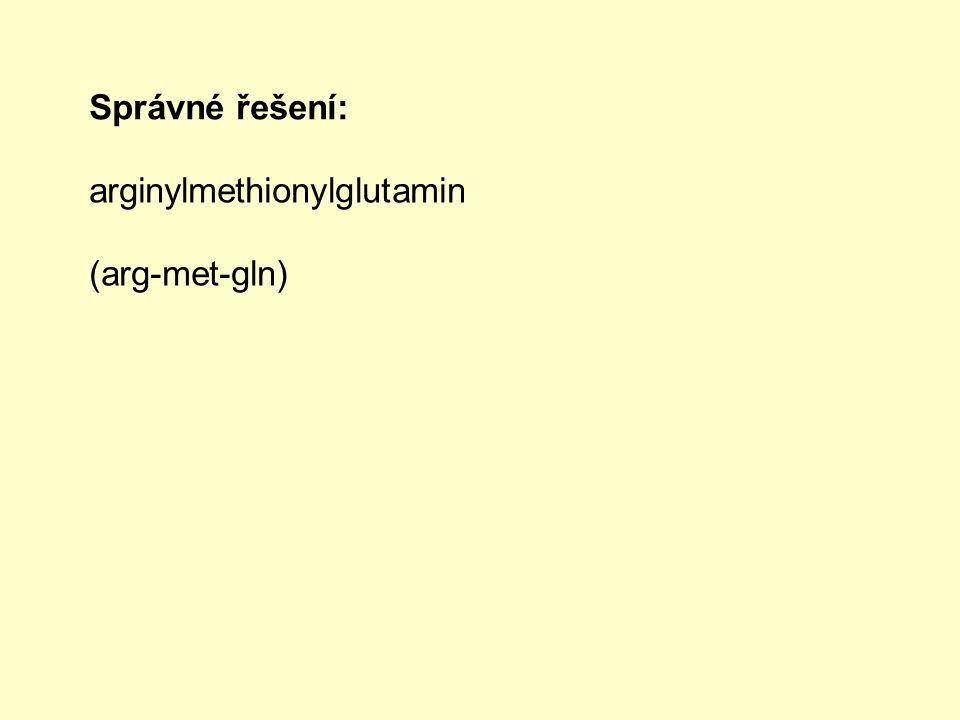 4.Která z látek nepatří mezi peptidy.