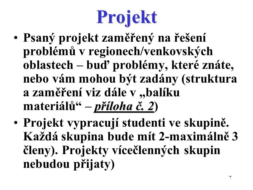 18 Základní literatura pro kurz Blažek, J.Uhlíř, D.