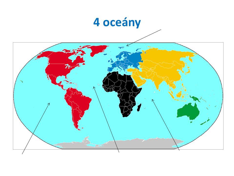 Jak se jmenuje nejmenší kontinent? Afrika Evropa Amerika Austrálie