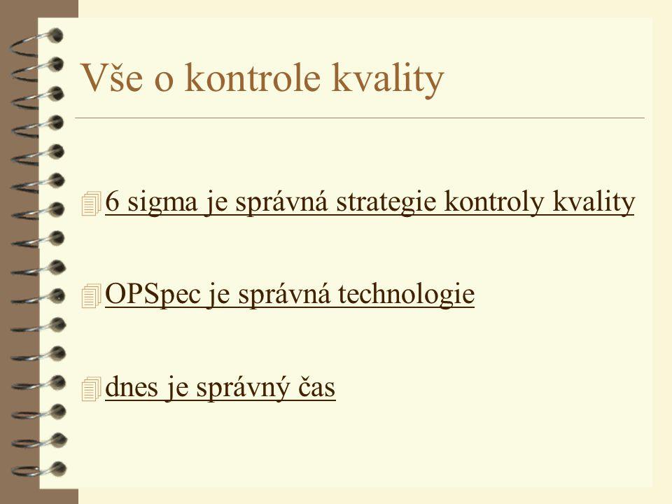 "6 sigma - ""proces posunut o 1,5 sigma"