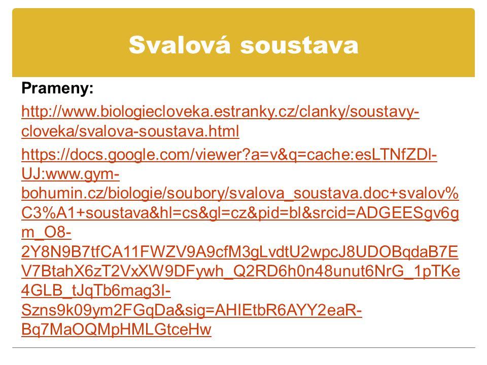 Svalová soustava Prameny: http://www.biologiecloveka.estranky.cz/clanky/soustavy- cloveka/svalova-soustava.html https://docs.google.com/viewer?a=v&q=cache:esLTNfZDl- UJ:www.gym- bohumin.cz/biologie/soubory/svalova_soustava.doc+svalov% C3%A1+soustava&hl=cs&gl=cz&pid=bl&srcid=ADGEESgv6g m_O8- 2Y8N9B7tfCA11FWZV9A9cfM3gLvdtU2wpcJ8UDOBqdaB7E V7BtahX6zT2VxXW9DFywh_Q2RD6h0n48unut6NrG_1pTKe 4GLB_tJqTb6mag3I- Szns9k09ym2FGqDa&sig=AHIEtbR6AYY2eaR- Bq7MaOQMpHMLGtceHw