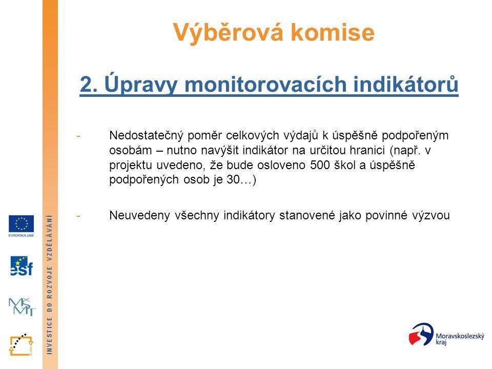 INVESTICE DO ROZVOJE VZDĚLÁVÁNÍ Výběrová komise 2.