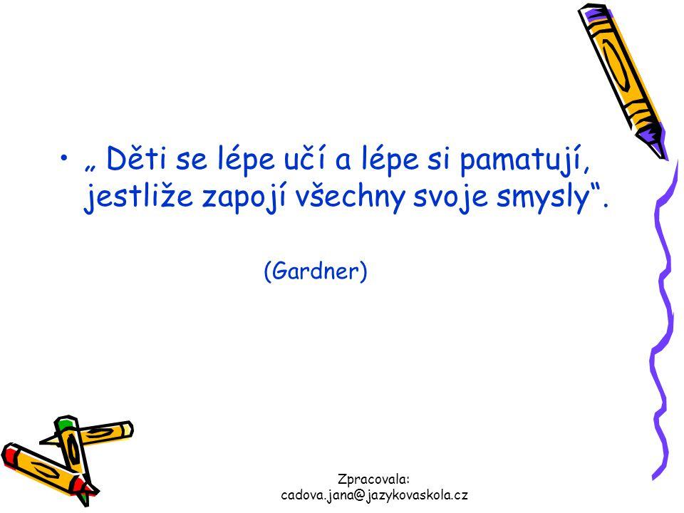 Zpracovala: cadova.jana@jazykovaskola.cz Učíš se tak, aby ses opravdu naučil to, co chceš nebo to, co potřebuješ?