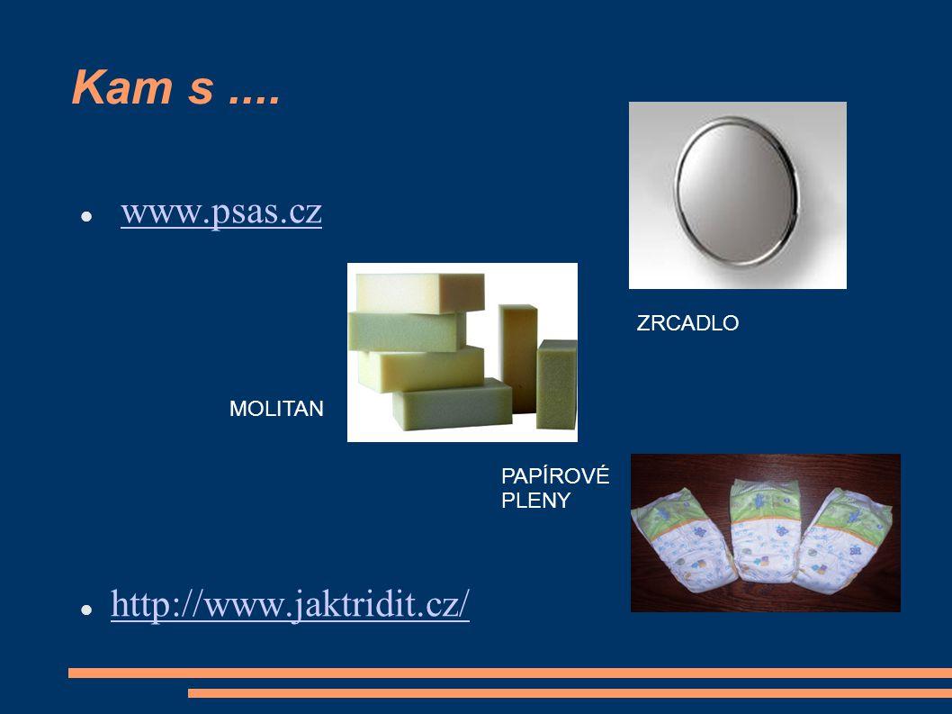 Kam s.... www.psas.cz http://www.jaktridit.cz/ MOLITAN ZRCADLO PAPÍROVÉ PLENY