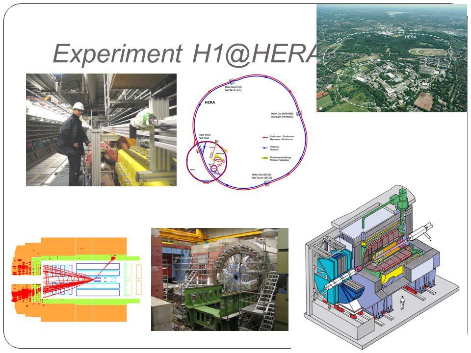 Experiment H1@HERA