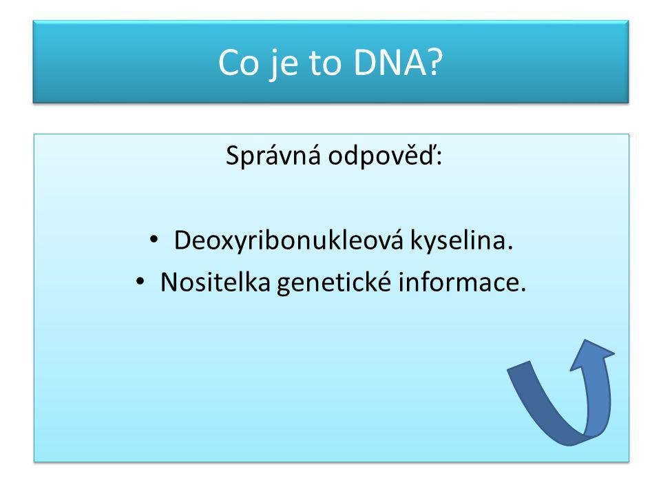 Co je to geneticky modifikovaný organismus.