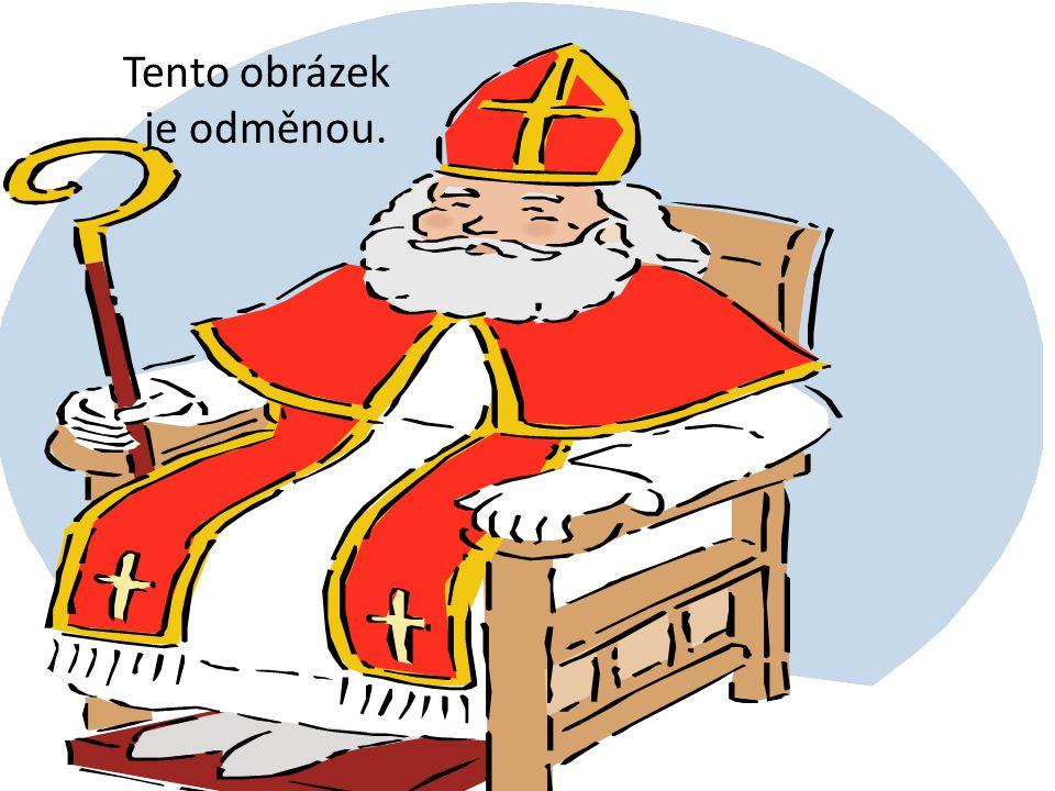 Mikuláš přišel k Novákům, kteří měli 5 dětí, každé z dětí dostalo balíček a v něm mělo 9 různých sladkostí.