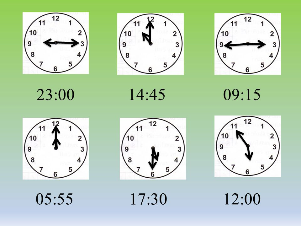 23:0009:1514:45 17:30 05:5512:00