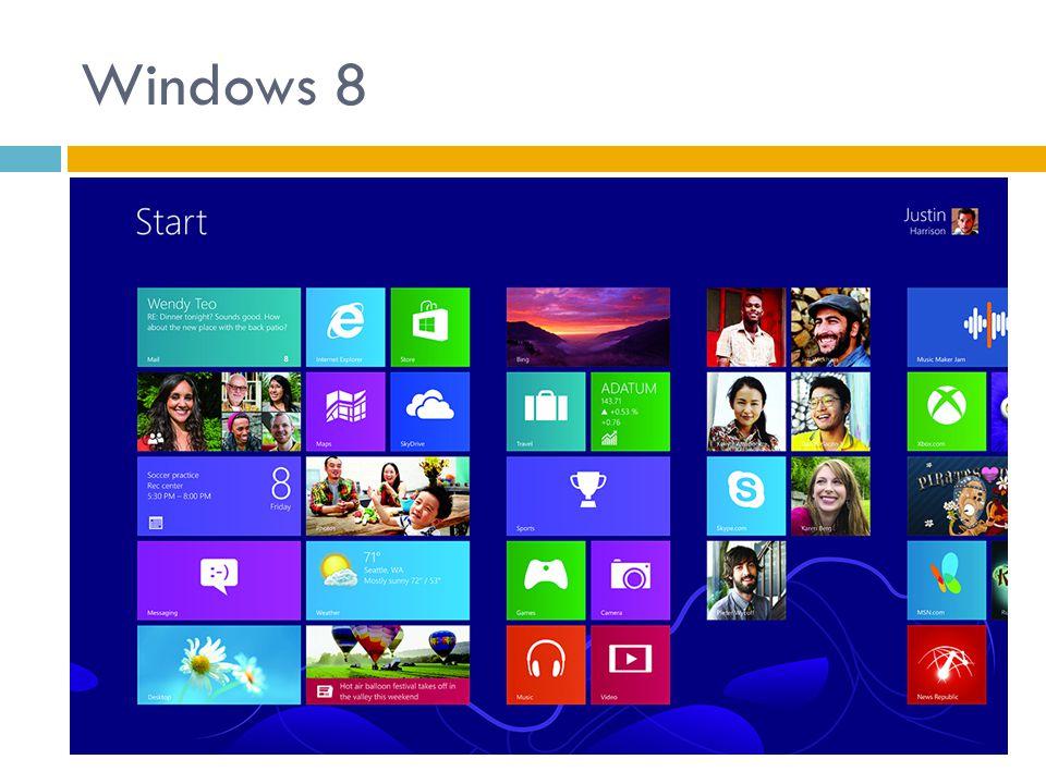 Součást Windows Vyzkoušejte tyto programy…  Programy: Windows Fotogalerie, Windows Media Player, Windows Kalendář, hry  V Příslušenství: Kalkulačka, Malování, Poznámkový blok, Výstřižky