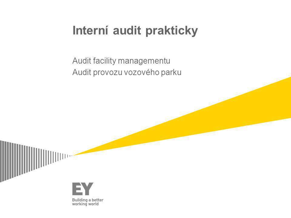 Interní audit prakticky Audit facility managementu Audit provozu vozového parku