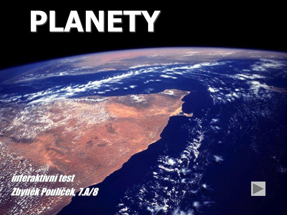 Otázka č.6 Po jakých drahách se pohybují planety.