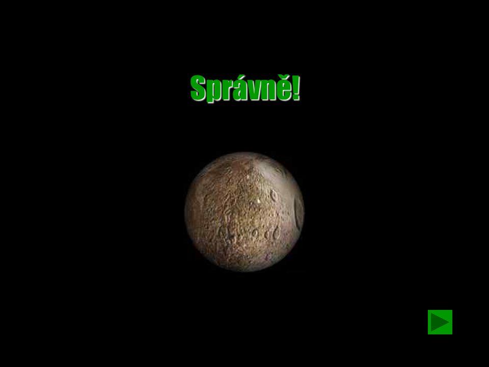 Otázka č. 7 Která z planet nemá atmosféru? a)VenušeVenuše b)UranUran c)MerkurMerkur