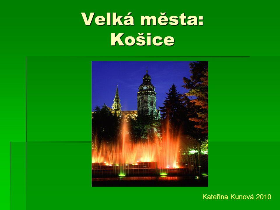 Počet obyvatel: 5 milionů Kateřina Kunová 2010