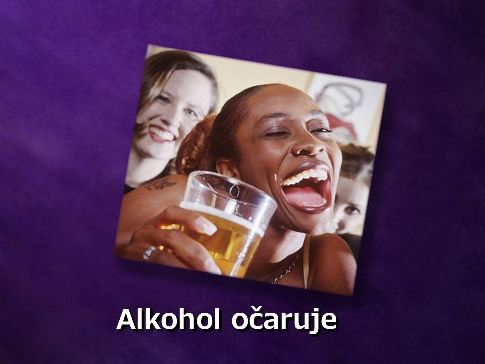 Alkohol způsobuje poškození mozku Po každém pití nenávratně ničí mozkové buňky.