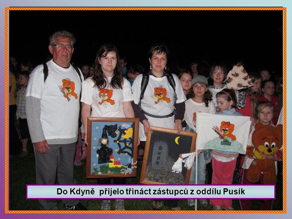 Do Kdyně přijelo třináct zástupců z oddílu Pusík