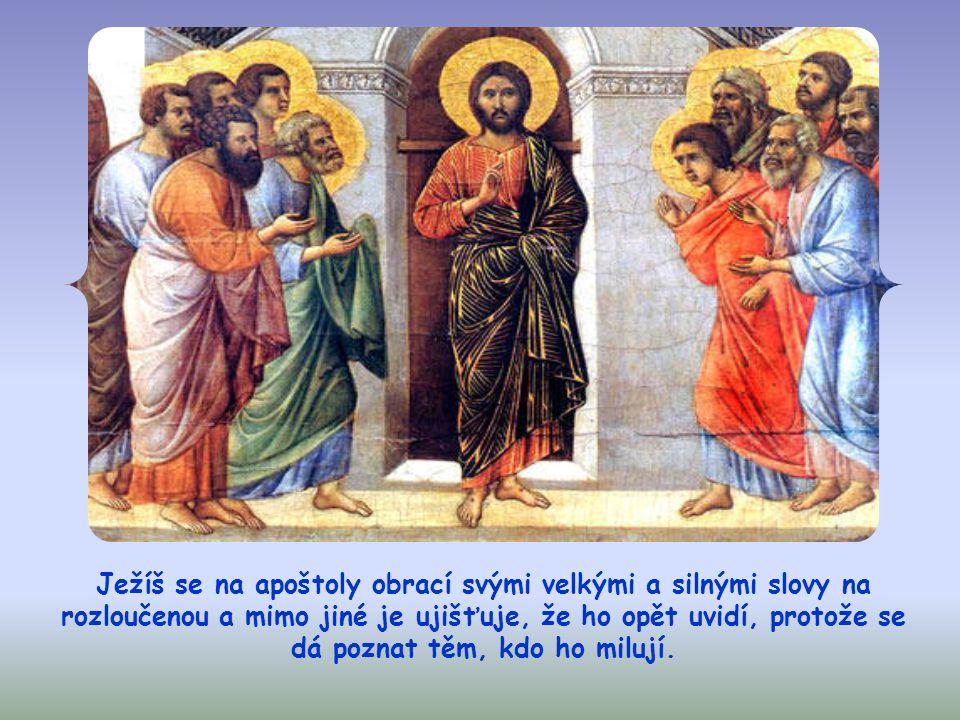 """""""Kdo mě miluje, bude zachovávat mé slovo a můj Otec ho bude milovat a přijdeme k němu a učiníme si u něho příbytek."""" (Jan 14,23)"""