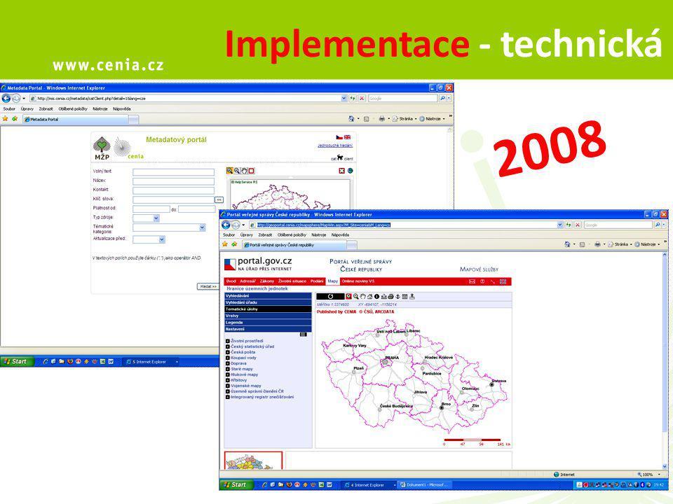 6 Implementace - technická 2008