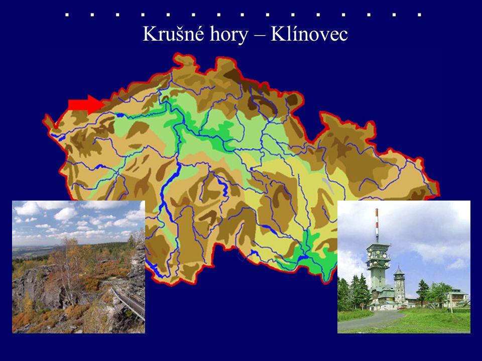 Krušné hory – Klínovec