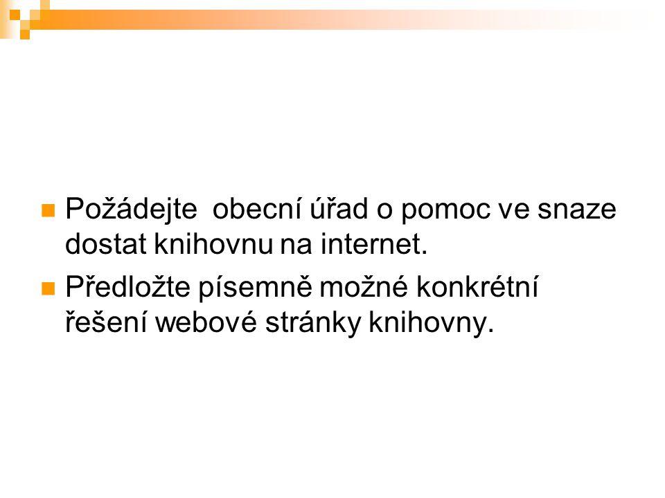 Katalog knihovny.