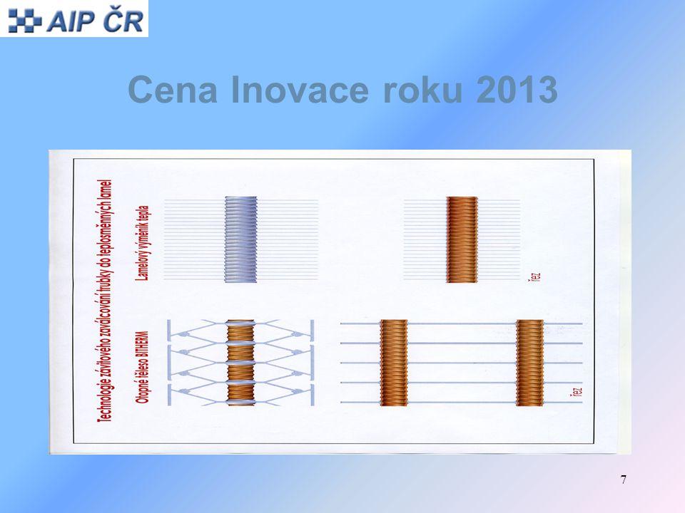 28 Cena Inovace roku 2013 Inovační produkt: Business Network Platform Předkladatel: MANAGEMENTMANIA.COM LLC, organizační složka, Plzeň Kontaktní osoba: David Melichar