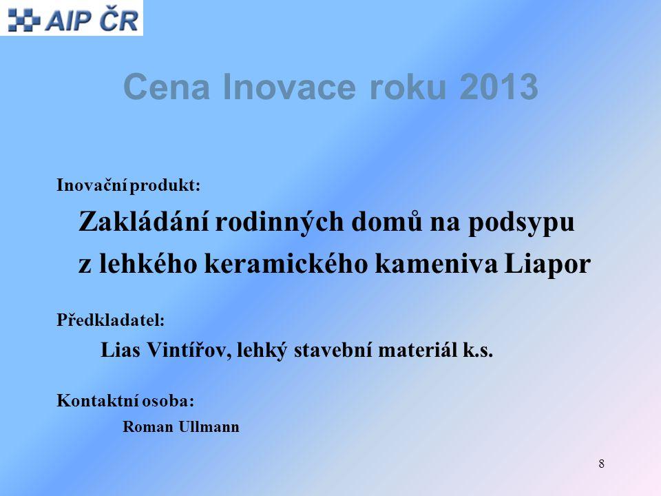 9 Cena Inovace roku 2013