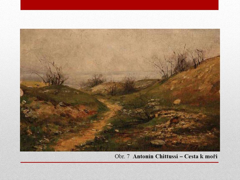 Obr. 7 Antonín Chittussi – Cesta k moři