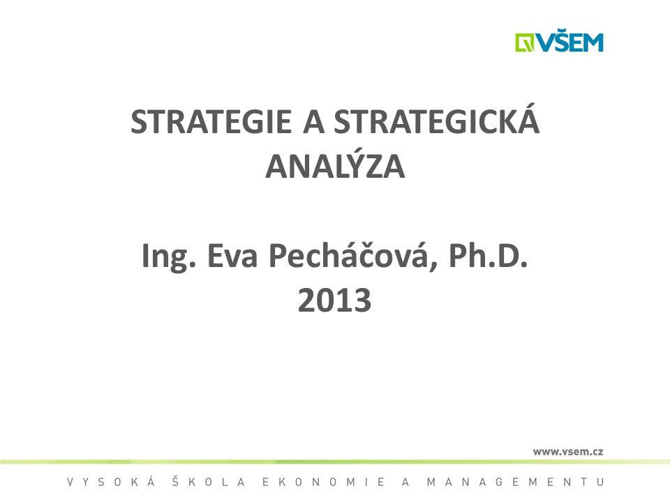 Cíl předmětu Význam a postavení strategického managementu Základní pojmy Postup při formulaci strategie Strategie v globálním a mezinárodním prostředí Problémy při realizaci strategie