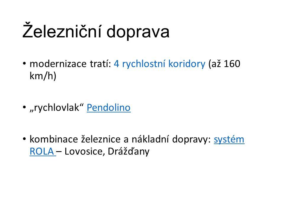 Železnice v ČR 3.