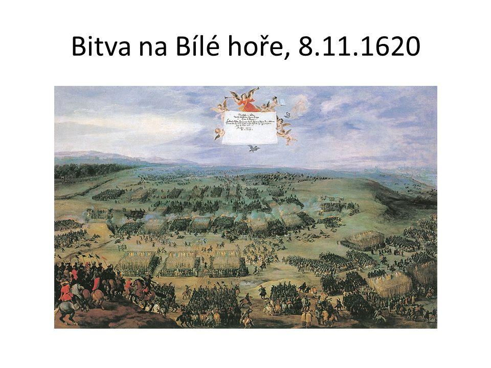 Bitva na Bílé hoře, 8.11.1620