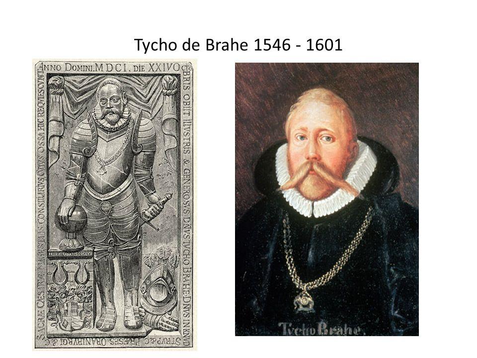 Tycho de Brahe 1546 - 1601